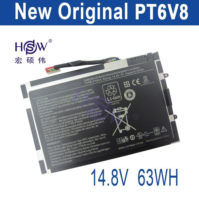 все цены на HSW battery 14.8V 63WH For Dell Alienware M11x R1 R2 R3 M14x R1 R2 R3 8P6X6 P06T PT6V8 T7YJR 08P6X6 KR-08P6X6 bateria онлайн