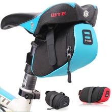 Nylon Bicycle Bag Bike Waterproof Storage Saddle Seat Cycling Tail Rear Pouch Bolsa Bicicleta accessories
