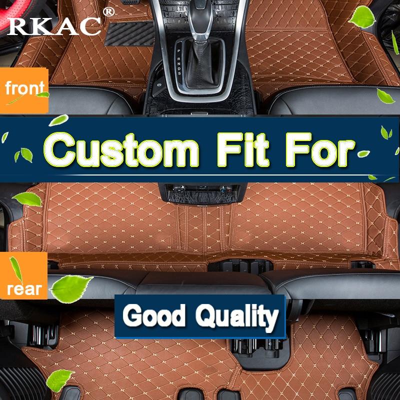 RKAC Custom fit 3D tappetini Auto per TOYOTA Land Cruiser 100 2004-2015 moquette del pavimento liner 7 POSTI IMPERMEABILE di BUONA QUALITÀ