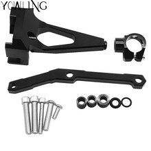 For Yamaha MT-09 2013 2014 2015 2016 2017 Steering Damper Mounting Bracket Kit MT09 FZ09 Stabilizer Reversed Safety Control