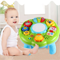 Baby Electric Toys Musical Learning Table Kids Animal Farm Piano Educational Developmental Music Toys for Children Gifts