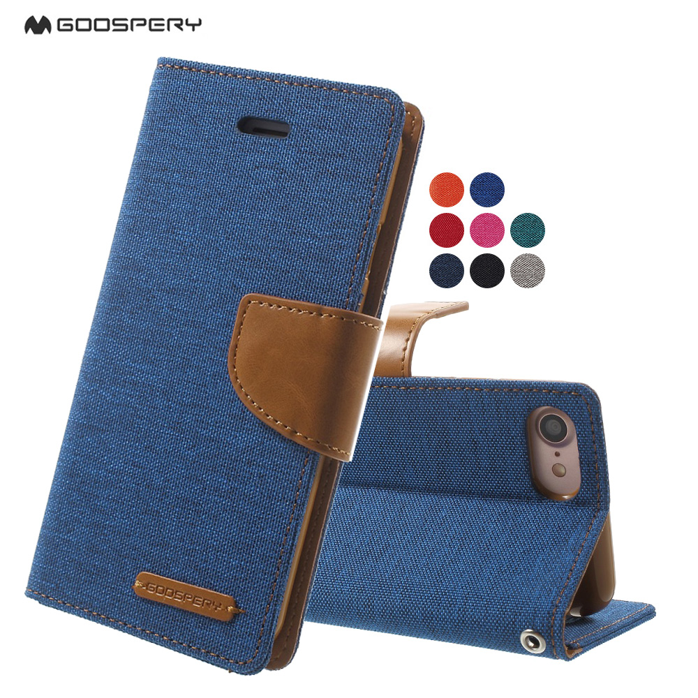 Mercury Goospery Canvas Diary Flip Wallet Leather Phone Case For Samsung Galaxy S9 Style Lux Jelly Black Iphone 7 7plus Plus Cover Coque Shell Bag On Alibaba Group