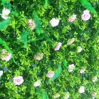 SPR Artificial Boxwood flowers wall Panels Garden Grass wall backdrop events occasion decor Garden party decoration