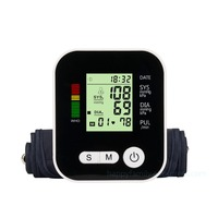 Digital Full Automatic Upper Arm Blood Pressure Monitor Health Monitors Sphygmomanometer ABPM Blood Pressure Meter Tonometer
