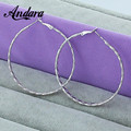 ANDARA New Arrival!Wholesale 925 Sterling Solid Silver Earring,Woman Fashion Jewelry,Women Earrings L126