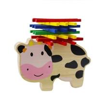 Compra Envío Wooden Del Cow Y Gratuito En Disfruta Toys lK1c3TJF
