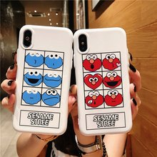 Cute TPU Phone Case For iPhone 7 Plus 8 X XR Xs Max Silicone Cover 6 6S High Quality