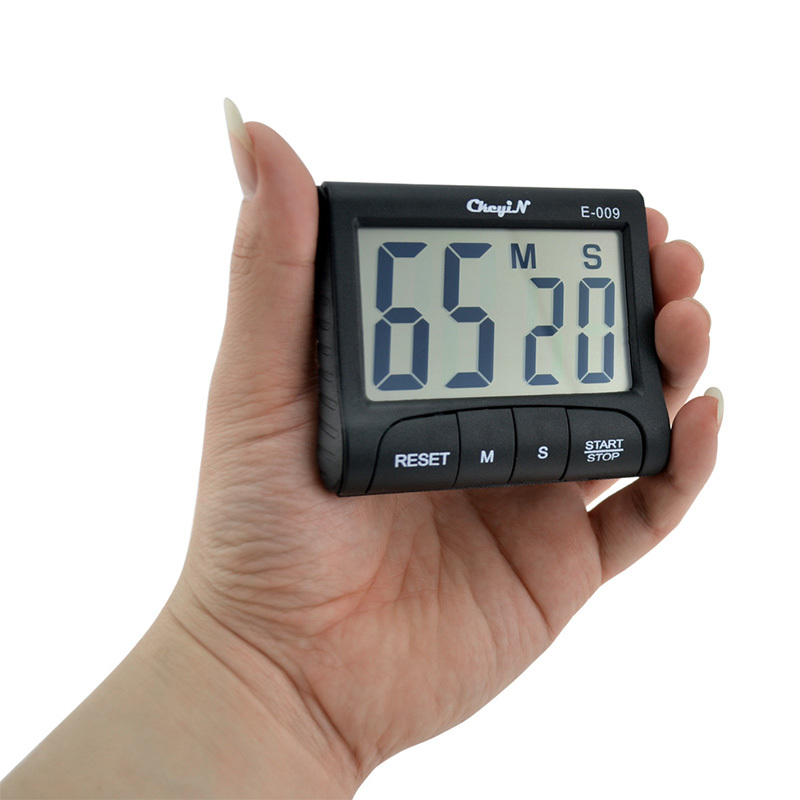 buy lcd digital kitchen timer alarm count down up cooking ti. Black Bedroom Furniture Sets. Home Design Ideas