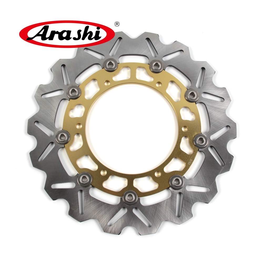 Arashi 1PCS WR250X 2008 CNC Front Brake Disc Rotors Floating Motorcycle Brake Disk For YAMAHA WR250 X WR X 250 2008