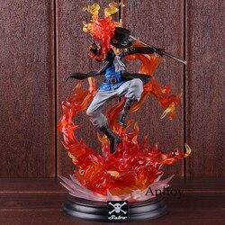 Anime POP XL Een Stuk Sabo Action Figure Motion Vermogen Standbeeld Portret. van. piraten Een Stuk Sabo Collectible Model Toy