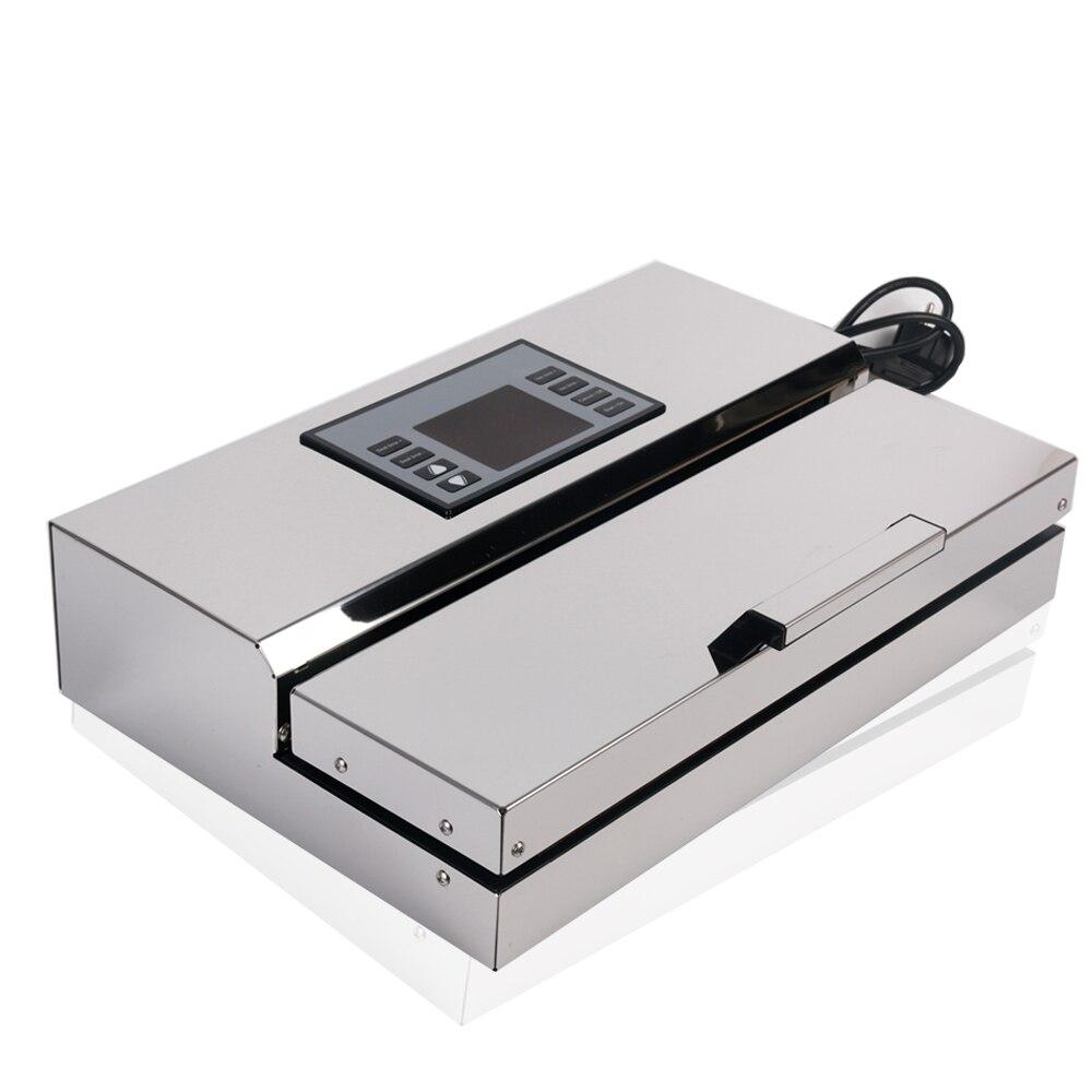 Professionnel Vide Alimentaire Scellant Acier Inoxydable Semi-Automatique Machine D'emballage Spécial Emballage Outils Avec Emballage Sacs