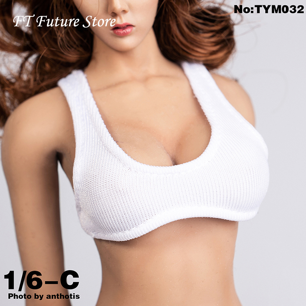 6 Colors Collectible 1/6 Scale <font><b>Sexy</b></font> <font><b>Female</b></font> Sport Wrapped Chest Vest Tank Top Clothes Accessory for 12'' <font><b>Action</b></font> <font><b>Figure</b></font> Body image