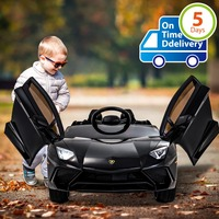 Uenjoy Aventador 12V Ride On Car Kids Cars Children's Electric Car Motorized Vehicles w/Remote Control, LED Lights..