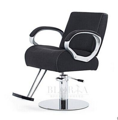 Chaise De Coiffure Mode Salon Coupe Cheveux Coiffeur Beaut Soins Accoudoir En Nylon Pais Coussin Dans Chaises