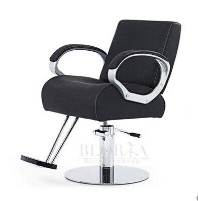Hairdressing chair/fashion hair salon haircut chair/barber chair/beauty-care chair Nylon armrest thick cushion