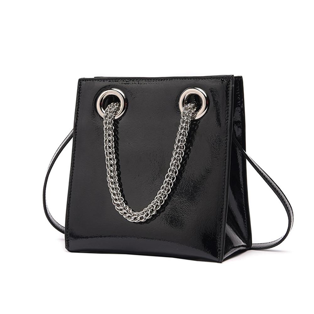 Newest Luxury Fashion Design Women Handbag Genuine Leather Causal Totes Chain Crossbody Bag Brand Messenger Bag