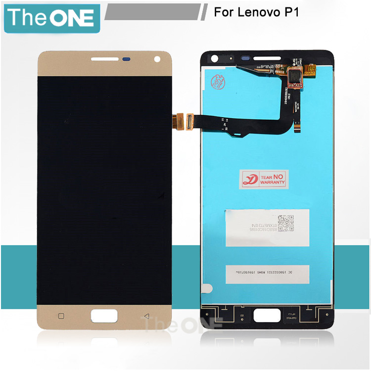 5 PCS For Lenovo Vibe P1 LCD Screen Display Touch Digitizer Screen Assembly For Lenovo P1