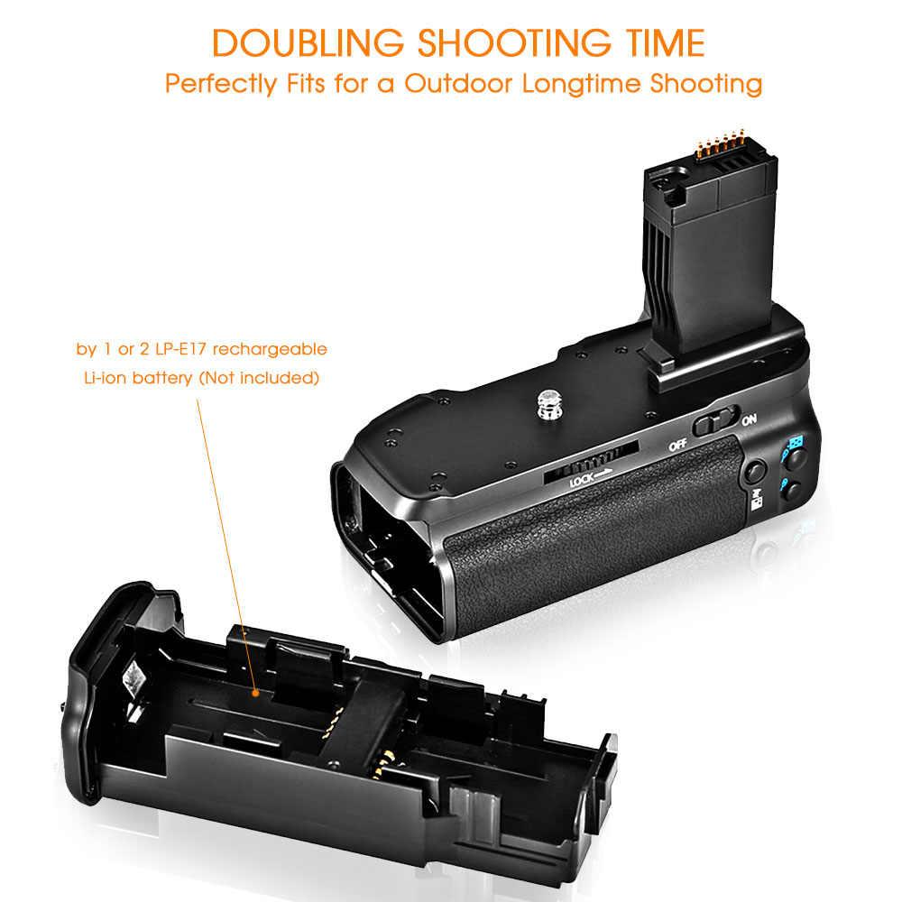 Travor Камера Вертикальная Батарейная ручка держатель для Canon DSLR 750D T6i 760D T6s X8i 8000D EOS Батарейная ручка Замена BG-E18