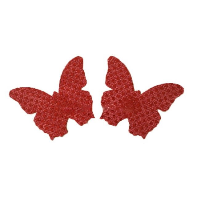 3 pair/lot  Cross butterfly heart Lip star Nipple Covers Pasties Breast Petals