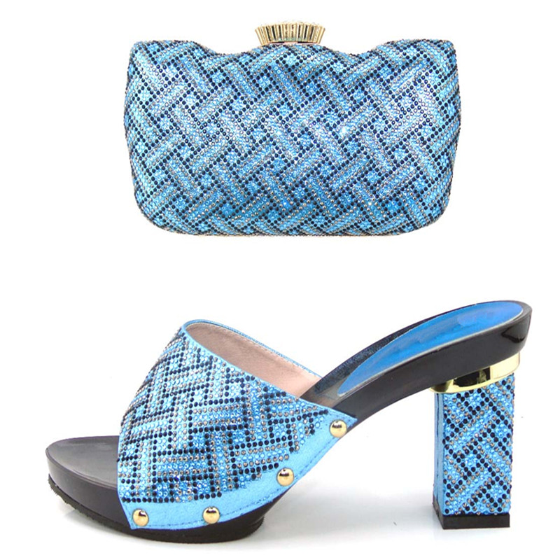 ФОТО Shoes and Bag Set Women Shoes and Bag Set Italy Women Shoes and Bag To Match for Parties African Women Shoes and Bags !HJJ1-25