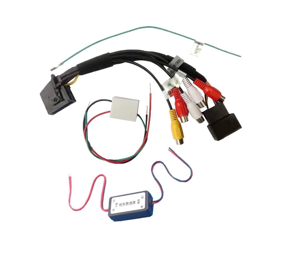 AV Input AV output and Rear Camera KIT for BMW 3series 5 series 7 series X5