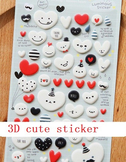 Wholesale new arrival fashion cute 1 pcs/set cute cartoon baby style 3D sticker . mobile sticker . Decoration label . retail gre