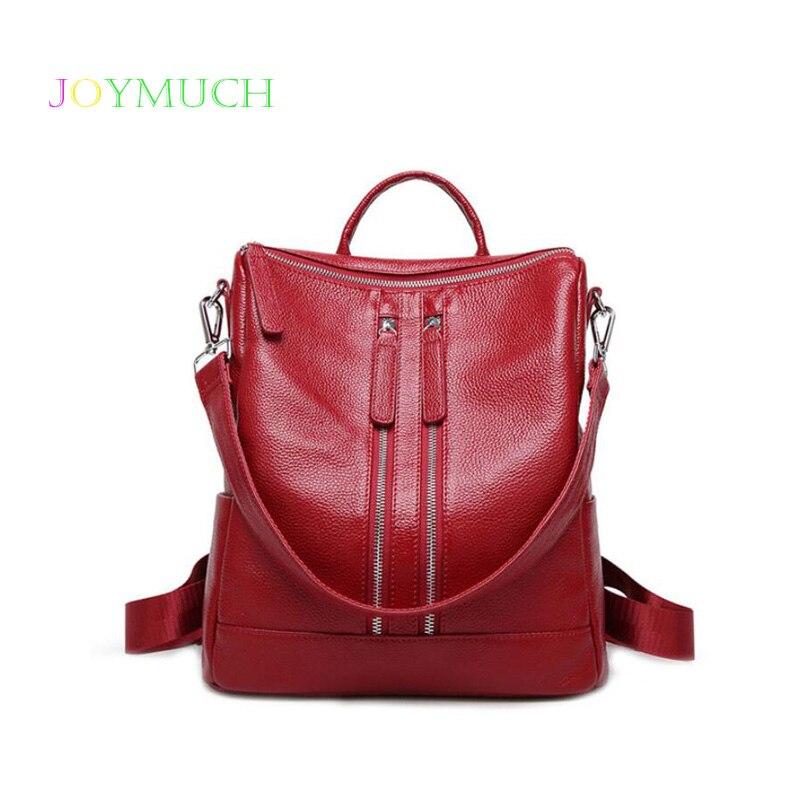 Первый слой из воловьей кожи женский рюкзак кожа 2018 зима новая простая женская сумка для отдыха деловой женский рюкзак