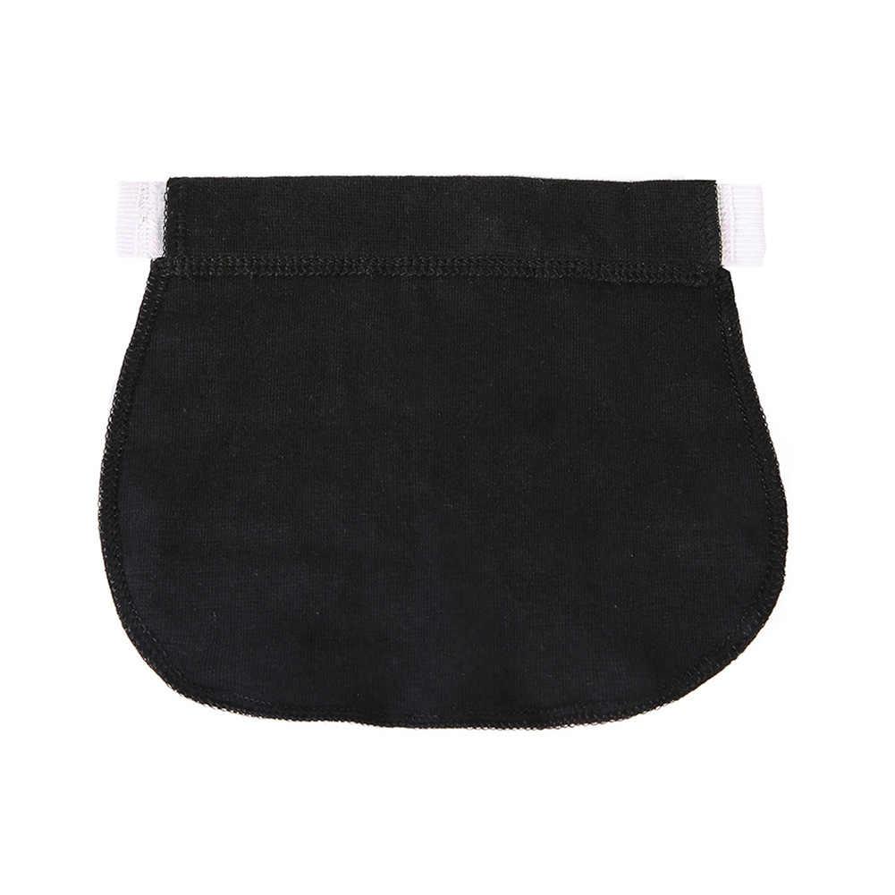 Мягкие эластичные джинсы с регулируемым поясом для беременных