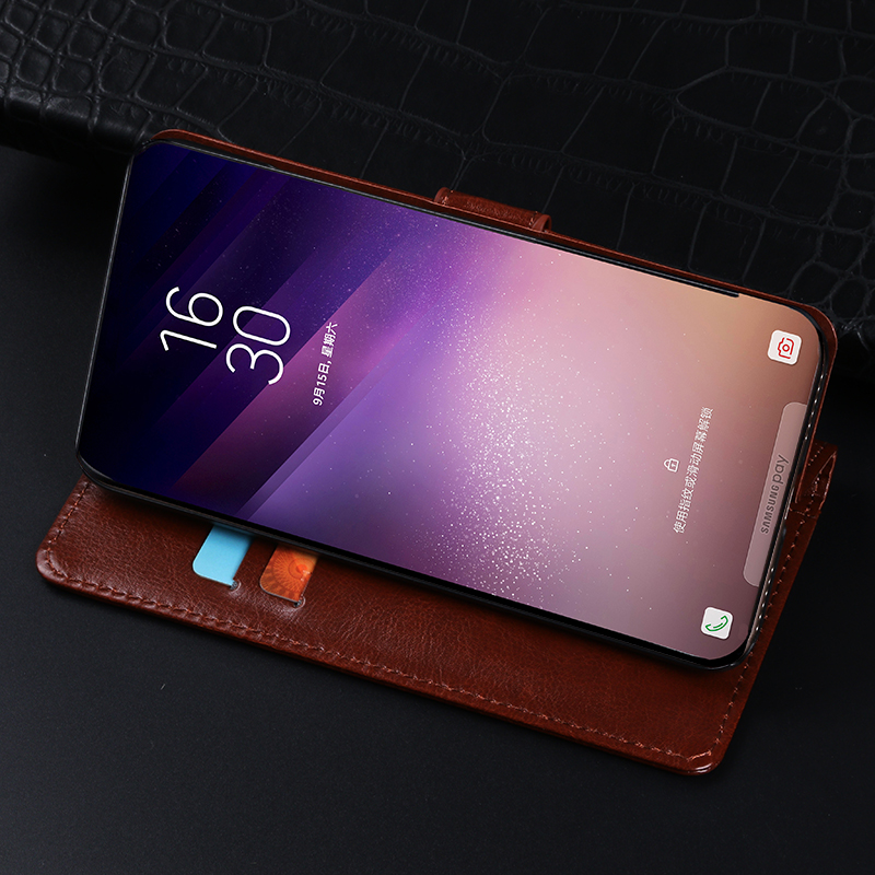 Flip leather case for Leagoo M5 M7 M8 S8 Pro T5 C fundas wallet style protective capa Luxury kickstand cover for M8Pro S8Pro T5C in Flip Cases from Cellphones Telecommunications