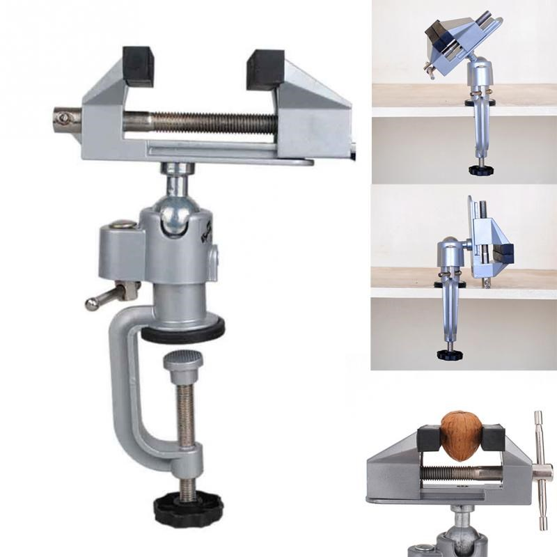 360 Degree Bench Clamp Vises Grinder Holder Drill Stand for Rotary Tool Craft Model Building CLH@8360 Degree Bench Clamp Vises Grinder Holder Drill Stand for Rotary Tool Craft Model Building CLH@8