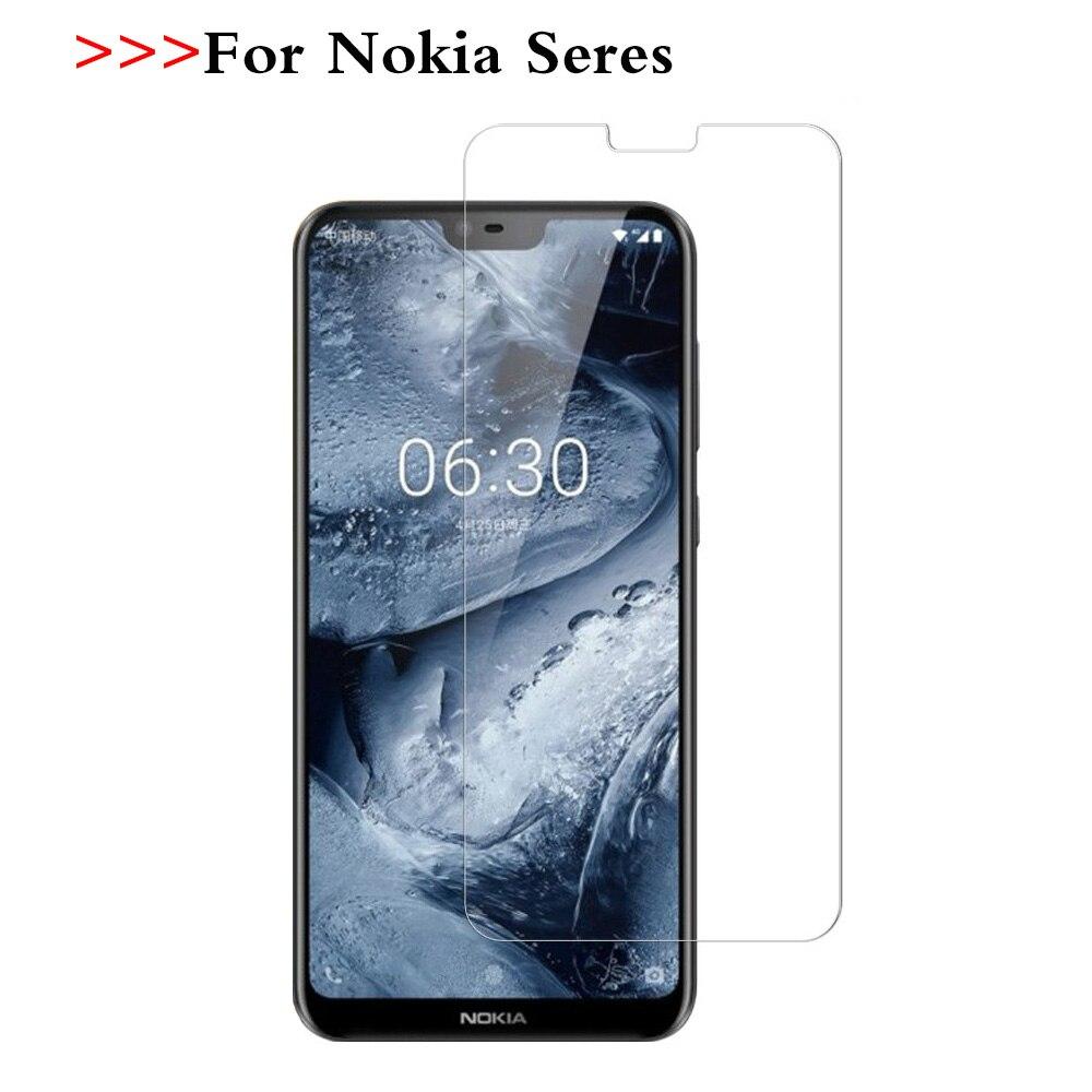 9H Protetor de Tela para Nokia 2 3 5 6 7 8 X5 X6 7 Além de Vidro Temperado para Nokia 6.1 Plus 5.1 3.1 2.1 Película Protetora de Vidro