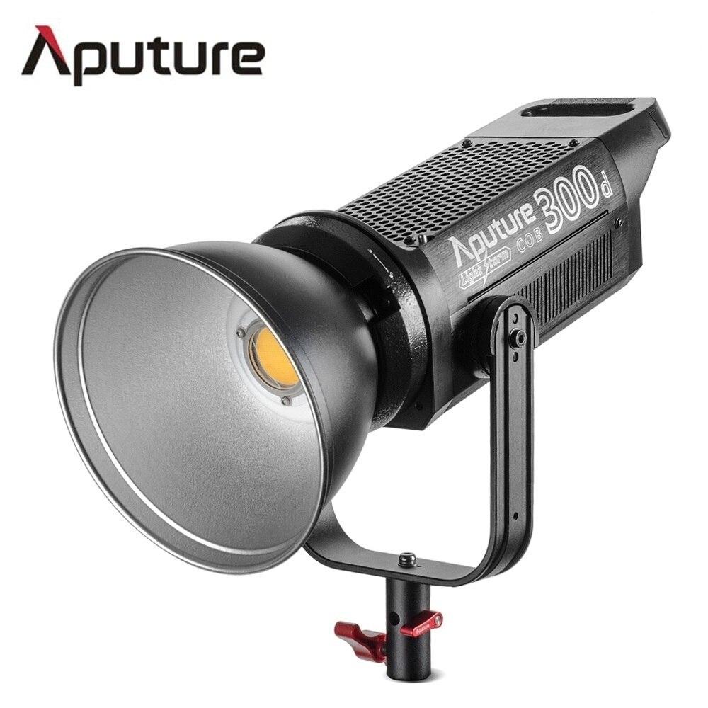 Aputure LS C300d TLCI COB luz 300 W saída 5500 K temperatura de cor 96 + professional tiro filmagens luz V-montagem