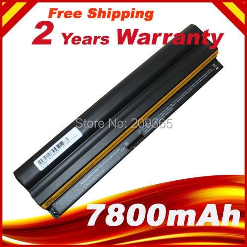 7800mAh Laptop battery For Lenovo ThinkPad X100e 100e X120e Edge 11 NVY4LFR NVZ24FR NVZ3BGE 0A36278 42T4889 42T4891 42T4893