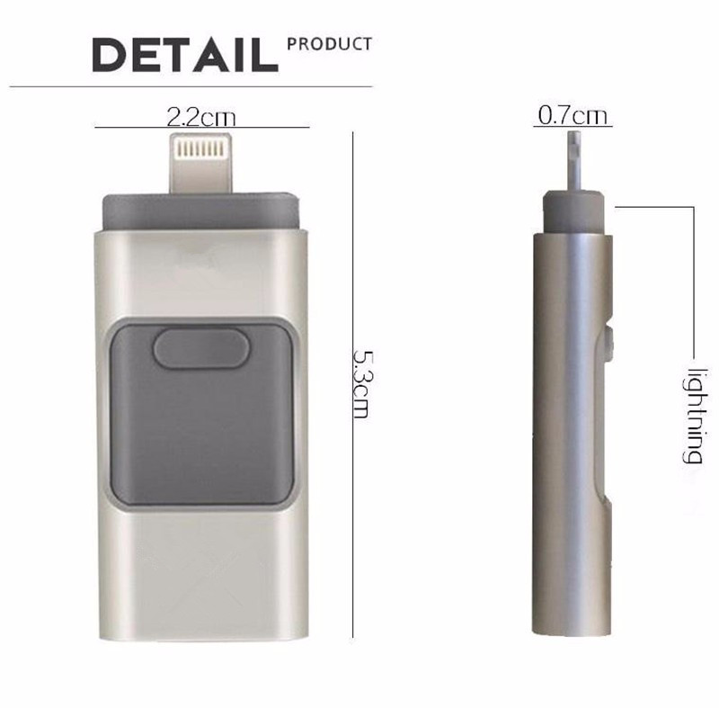 multifunction Flash font b Drive b font USB Memory Stick For Apple iPhone 5 6 6S