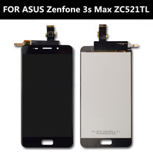цены FOR ASUS Zenfone Pegasus 3s Max ZC521TL X00GD  LCD Display+Touch Screen+Tools Assembly Replacement for 5.2 inch