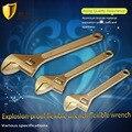 6 8 10 غير الإثارة مفتاح قابل للضبط ، انفجار برهان ، الألومنيوم البرونزية المواد اليد أدوات