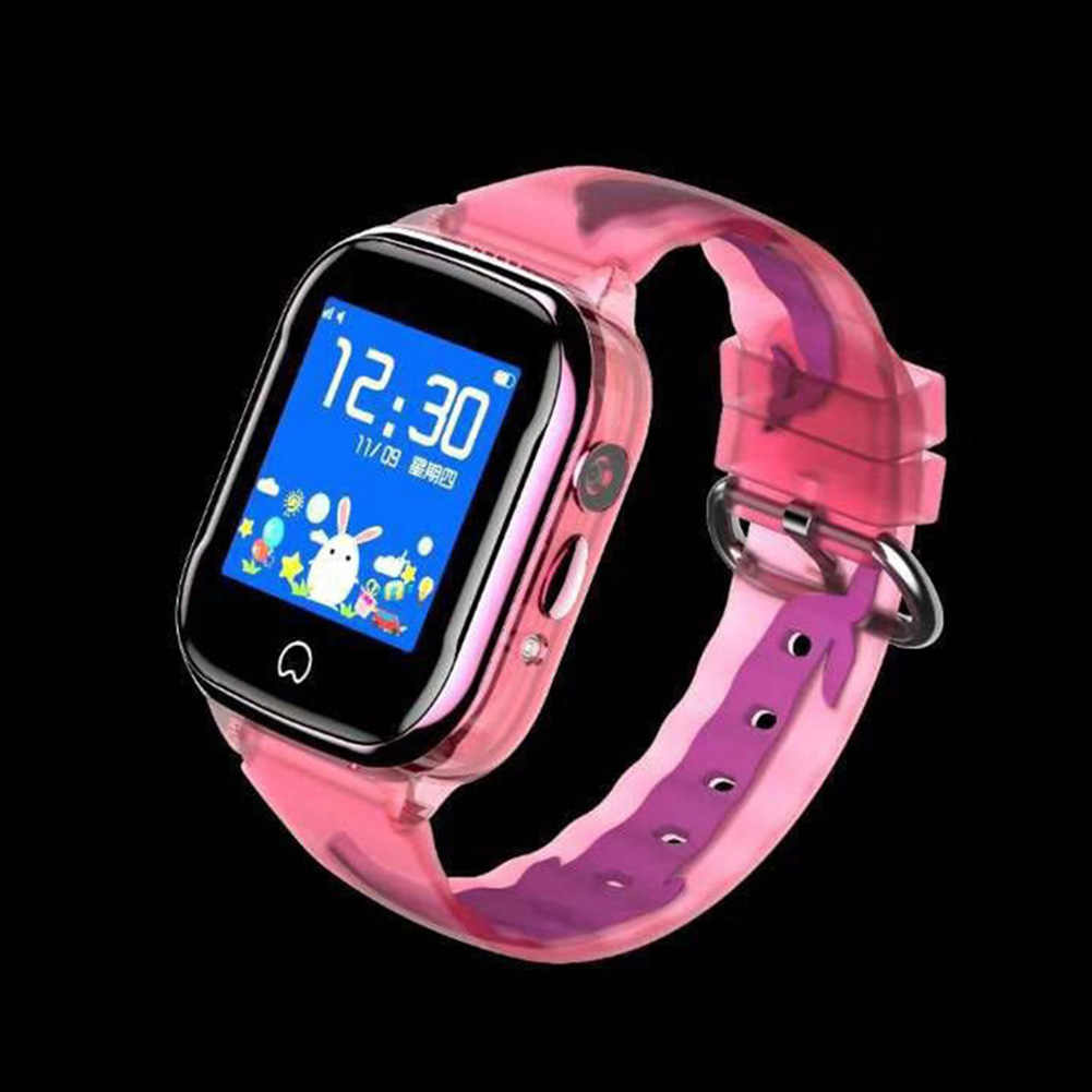 Boy Girl Children  Screen Kid Smart Watch With GPS Positioning Camera Tracker Monitor SOS Calling Waterproof Gifts Learning