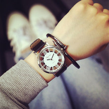 Unique Stylish Women Watch Super Star Double Hollow Design Watches Lady Fashion Casual Quartz Wristwatch Gift