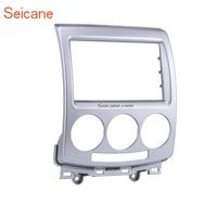 Seicane 2Din Radio Installation Dashboard Fascia Auto Stereo Frame CD DVD Refitting Panel For Mazda 5 2010