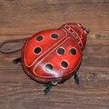 Cartoon bag genuine leather coin purse animal wallet cute female purse Handmade Leather Coin Purse mini Wallet