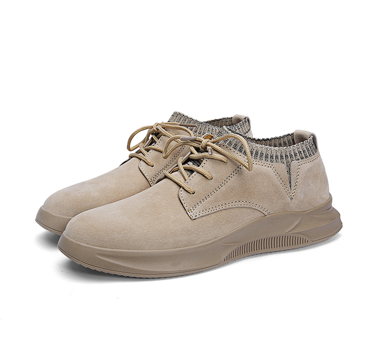Casual Genuine Leather Suede Sneakers Unisex 11