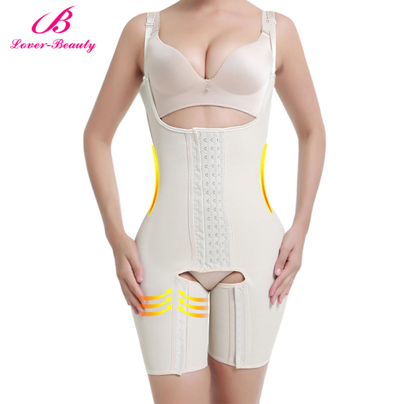 d4bf6da81 Lover Beauty Full Body Shaper Plus Size Waist Trainer Latex Waist Cincher  Corset Tummy Control Underwear Hot Shapers Shapewear-in Bodysuits from  Underwear ...