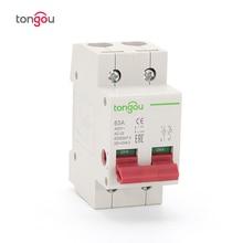 230 В 400 В AC 2P главный выключатель функция разъединитель выключатель изолятор автоматический выключатель TOD10-100
