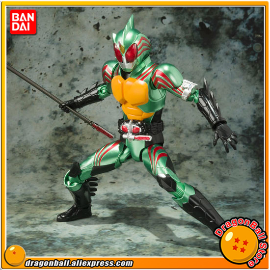 Japan Anime Masked Rider Original BANDAI Tamashii Nations SHF/ S.H.Figuarts Action Figure - Kamen Rider Omega 100% original banpresto internal structure collection figure masked rider 1