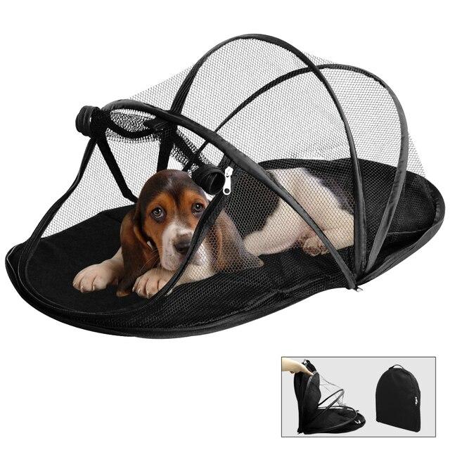 ef488c559469a0 Vente chaude Pliable Chien Maison Pour Animaux de compagnie Chien Lit Chat  Lit Maison chien Tente
