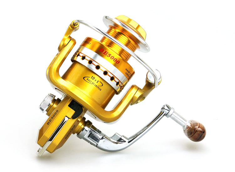 BE1000 to7000 Series Full Metal Spinning Reel Moulinet de pêche - Pêche - Photo 4