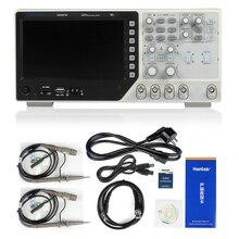 Hantek USB Осциллограф DSO4072C 2 Каналов 70 МГц Цифровой Osciloscopio Ручной Портативный ЖК-Диагностический инструмент 1gsa/с частотой Дискретизации скорость