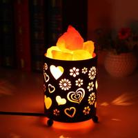 Air Purifier Himalaya Crystal Salt Lamp LED Night Light Office Hotel Gift