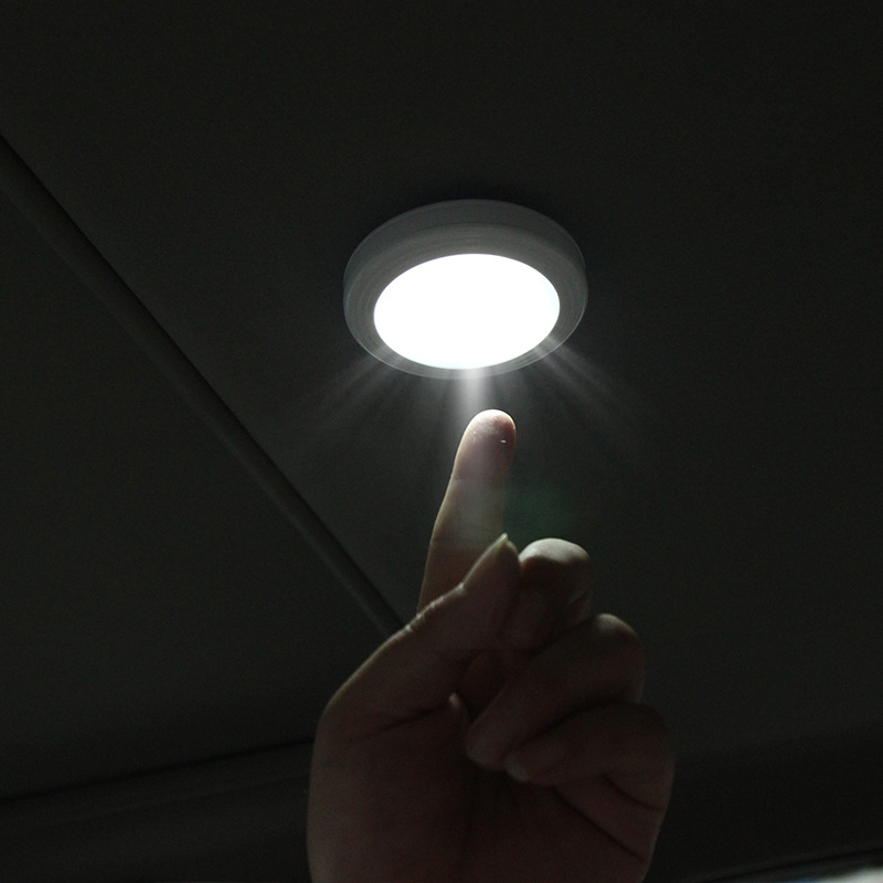 Car Ornaments Universal LED Reading Light Interior Roof Doom Lamp Auto Styling Night Light car Accessories Mutifunctional