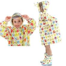 Cartoon Themed Waterproof Rain Coat for Kids